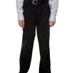 NEW CALVIN KLEIN Boy's Black Pants Casual Size 7